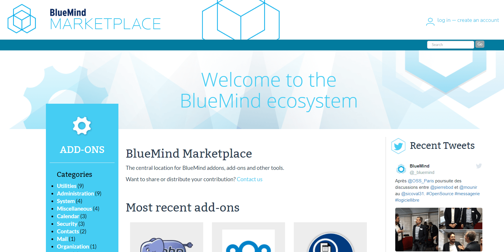 BlueMind Marketplace
